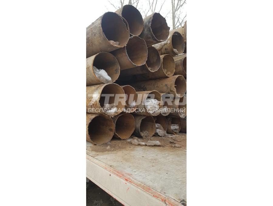 Труба б/у 300 мм стенка 5мм в Новосибирске