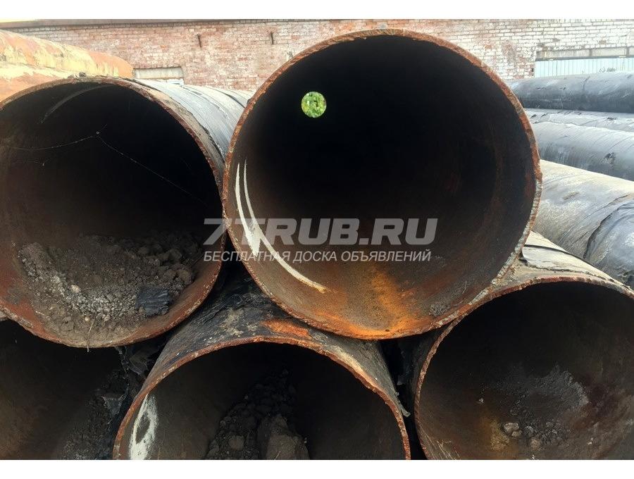 Трубы б/у стальные 530х6 мм