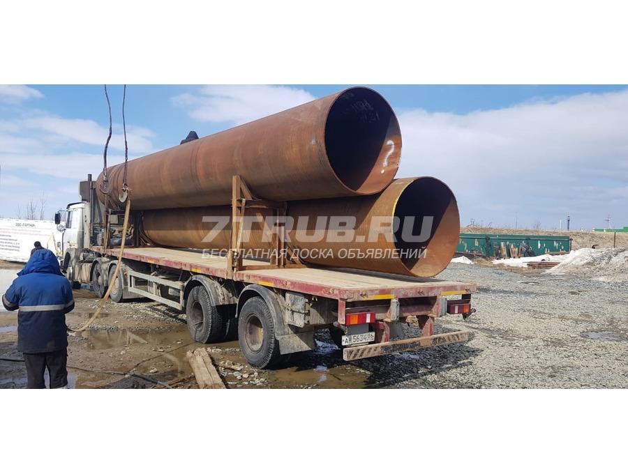 Труба БУ ГАЗ ПШ 1420х16,5-17,5мм без изоляции