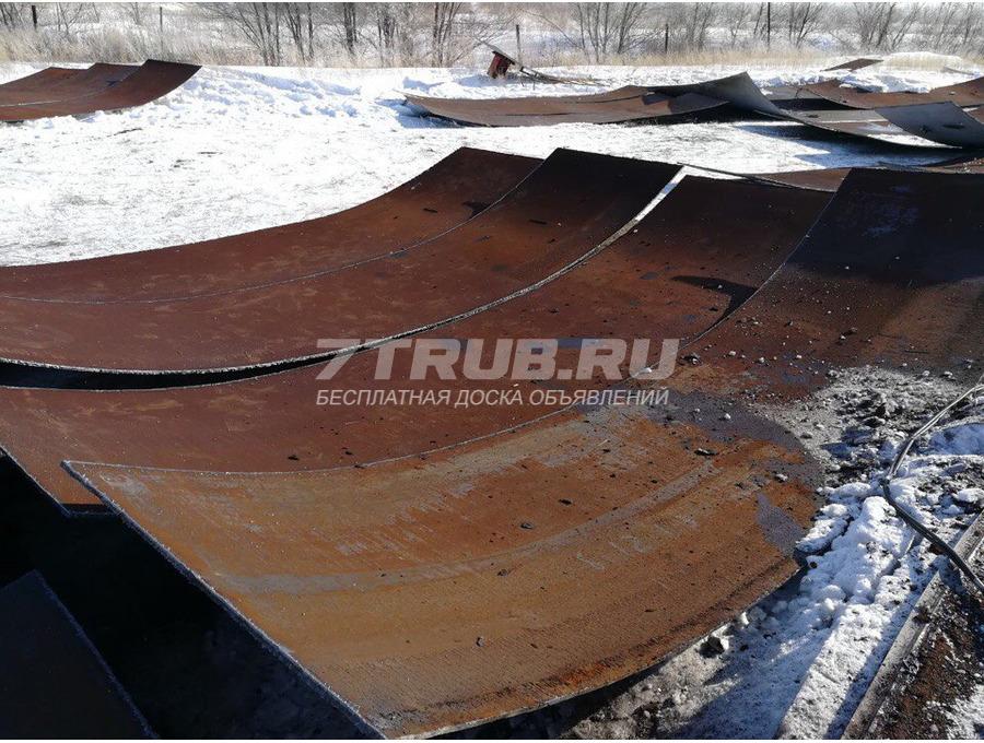 Продам лист бу 9, 10 мм в Челябинске
