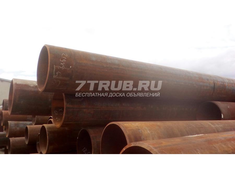 Труба новая 219х8 п/ш (срезанный грат), 2020 год