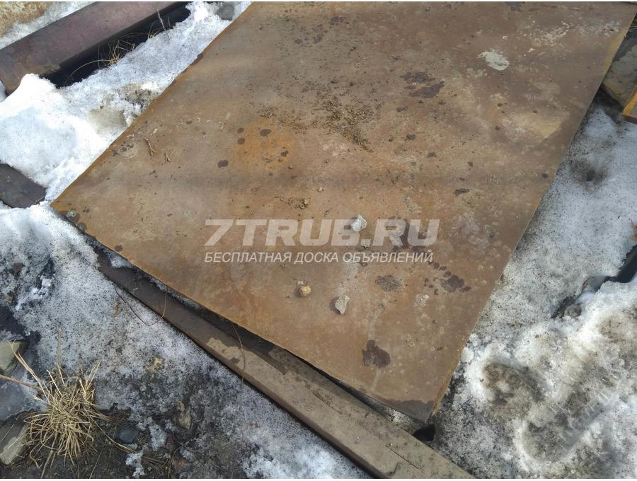 Продам лист стальной 16 мм бу в Новосибирске