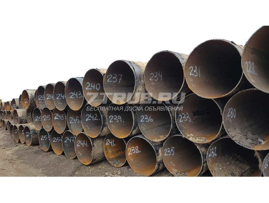 Труба стальная б/у 720х9 пр/ш