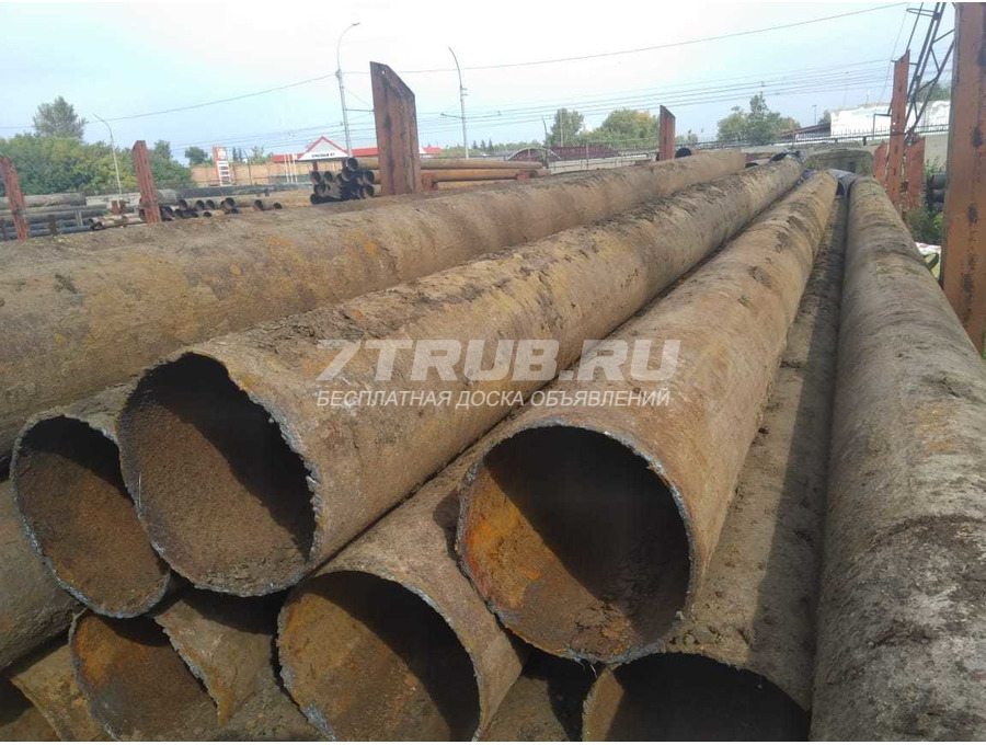 Продам трубы б/у 426х7 Новосибирск чистая п/ш