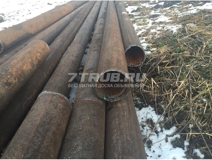 Продам трубы б/у 219х8 и 273х10 в Красноярске