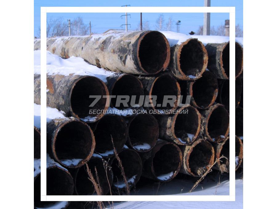 Предлагаем стальные трубы бу 426 мм из-под воды