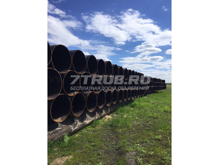 Продам трубы 720х11 б/у, п/ш, нефть