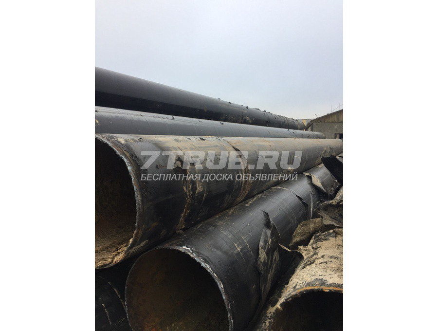 Продам трубы бу 530х6 прямошовка, вода, пленка